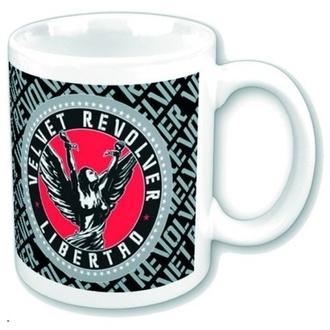 Šalica Baršun Revolver - Circle Logo, ROCK OFF, Velvet Revolver