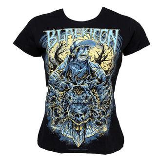 Majica ženska Crno IKONA - Wolf Sell, BLACK ICON