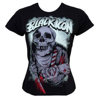 Majica ženska Crno IKONA - Jesti - Crno, BLACK ICON