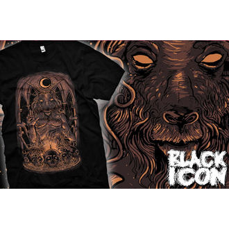 Majica muška Crno IKONA - Baphomet, BLACK ICON