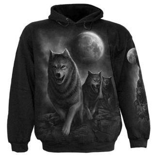 hoodie muški SPIRAL - Wolf Spakirati Wrap, SPIRAL