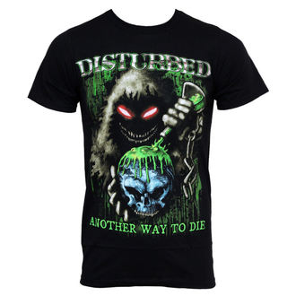 Majica muška Disturbed - Toksičan Globe - BRAVADO SAD, BRAVADO, Disturbed