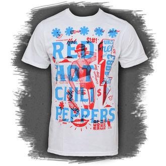 Majica muška Crven Hot chili Paprike - Multiply, BRAVADO, Red Hot Chili Peppers