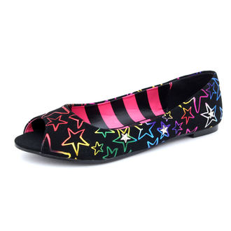 Cipele ženske ABBEY ZORA - Starstruck Proviriti Nožni prst Ravan, ABBEY DAWN, Avril Lavigne