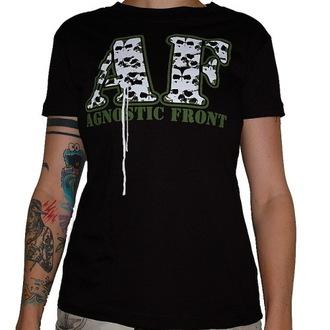 Majica ženska Agnostic Front - Skulls - RAGEWEAR, RAGEWEAR, Agnostic Front