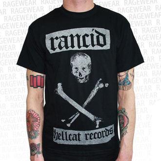 Majica muška Rancid - Hellcat  - Crno - RAGEWEAR, RAGEWEAR, Rancid