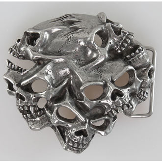 kopča Gestalt Skull ALCHEMY GOTHIC, ALCHEMY GOTHIC