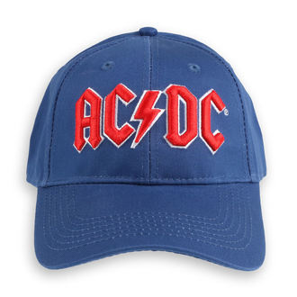 kapa AC / DC - Red Logo Mid-Blue - ROCK OFF, ROCK OFF, AC-DC