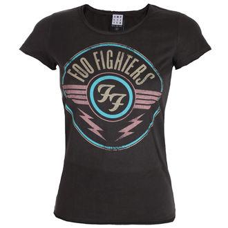 Ženska metal majica Foo Fighters - CHARCOAL - AMPLIFIED, AMPLIFIED, Foo Fighters