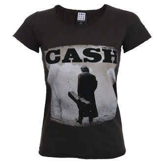 Ženska metal majica Johnny Cash - WALKING LEGEND - AMPLIFIED, AMPLIFIED, Johnny Cash