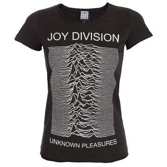 Ženska metal majica Joy Division - UNKNOWN PLEASURES - AMPLIFIED, AMPLIFIED, Joy Division