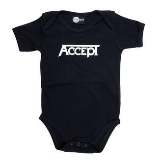 Dječji bodi Accept - Logo - Crno, Metal-Kids, Accept