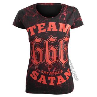 Majica hardcore ženska - TEAM SATAN - AMENOMEN, AMENOMEN