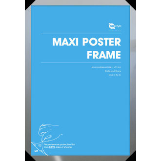 okvir na plakat (61x91,5 cm) - Silver - GB posters, GB posters