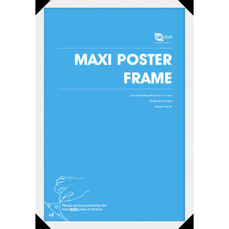 okvir na plakat (61x91,5 cm) - Bijelo - GB posters, GB posters