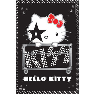 plakat Bok Mače - Kiss Tura - GB posters, HELLO KITTY, Kiss