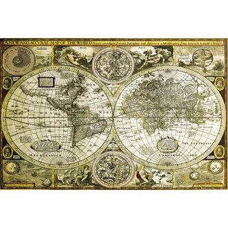 plakat Svijet Karta Historical - GB posters, GB posters