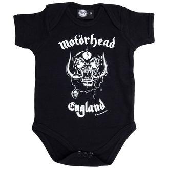 Bodi za bebe Motorhead - England, Metal-Kids, Motörhead