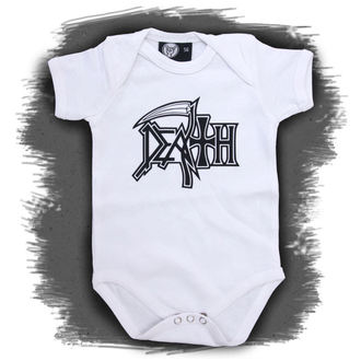 Dječji bodi Death - Logo - Bijelo, Metal-Kids, Death