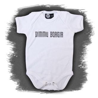Dječji bodi Dimmu Borgir - Logo - Bijelo, Metal-Kids, Dimmu Borgir