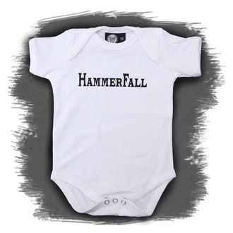 Dječji bodi Hammerfall - Logo - Bijelo, Metal-Kids, Hammerfall