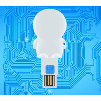 USB čitač micro SD razglednice (bljeskalica disk) - STAR WARS - Yoda, NNM