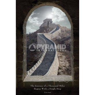 plakat Putovanje Od A Thousand Miles - Pyramid Plakati, PYRAMID POSTERS