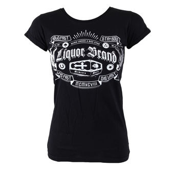 Majica ženska Namazati BRAND - Coffin, LIQUOR BRAND