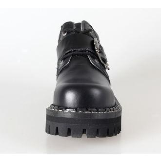 cipele KMM 4dírkové - Velik Skulls Crno Pun, KMM