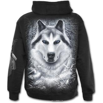 hoodie muški SPIRAL - Wolf - Bijelo - TR324840