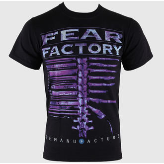 Majica muška Fear Factory - Demanufacture - Crno - LIVE NATION, LIVE NATION, Fear Factory