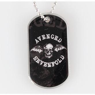 Identifikacijska pločica/Dog Tag Avenged Sevenfold - Death Bat - RAZAMATAZ, RAZAMATAZ, Avenged Sevenfold