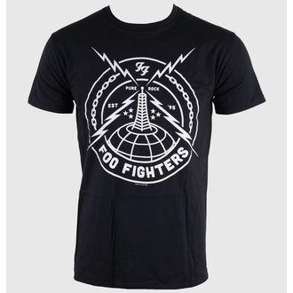 Majica muška Foo Fighters - Crno Štrajk - LIVE NATION, LIVE NATION, Foo Fighters