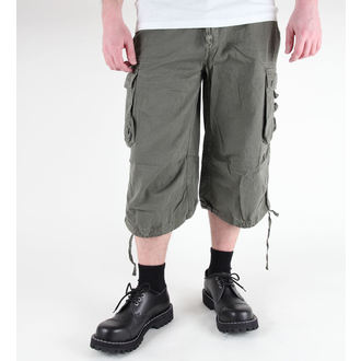 kratke hlače muške 3/4 MIL-TEC - Air combat - Pretpranja Oliv, MIL-TEC