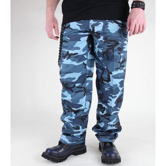 hlače muške MIL-TEC - Sjedinjene Države Forestr Crijevo - BDU Azuran, MIL-TEC