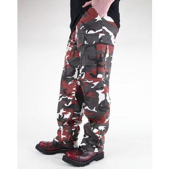 hlače muške MIL-TEC - Sjedinjene Države Forestr Crijevo - BDU Crven Camo, MIL-TEC
