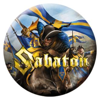 značka Sabaton - Carolus Rex - Ograničen, NUCLEAR BLAST, Sabaton