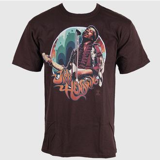 Majica muška Jimi Hendrix - Hendrix Groove - LIQUID PLAVA, LIQUID BLUE, Jimi Hendrix