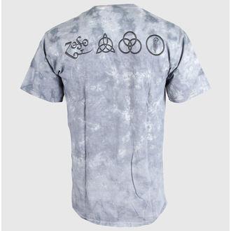 Majica muška Led Zeppelin - Čovjek s Sticks  - LIQUID PLAVA, LIQUID BLUE, Led Zeppelin