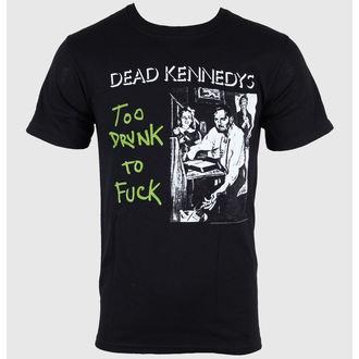 Majica muška Mrtav Kennedys - Suviše Pijan - Crno - UTJECAJ, IMPACT, Dead Kennedys