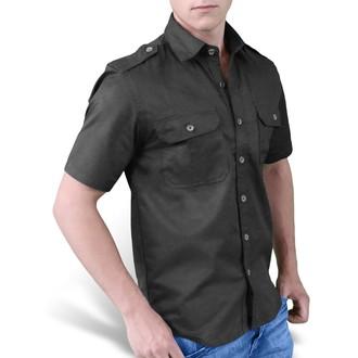 košulja SURPLUS - Običan Ljeto - Crno, SURPLUS