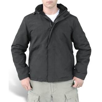 jakna muška (kaput za vjetar) SURPLUS - Windbreaker - Crno, SURPLUS