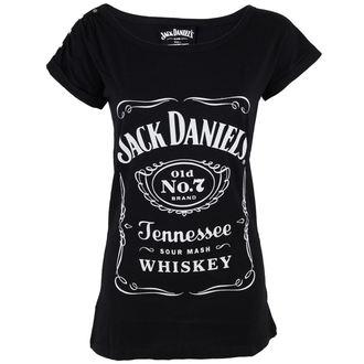 Majica ženska Utičnica Daniels - Klasik Logo - Crno