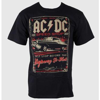 Majica muška AC / DC - Speedshop - LIQUID PLAVA, LIQUID BLUE, AC-DC