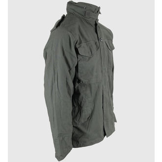 jakna muška proljeće/jesen M65 Fieldjacket NYCO opran - MASLINA, MMB