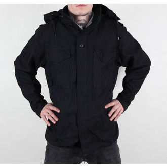 jakna muška proljeće/jesen M65 Fieldjacket NYCO opran - Crno, BOOTS & BRACES