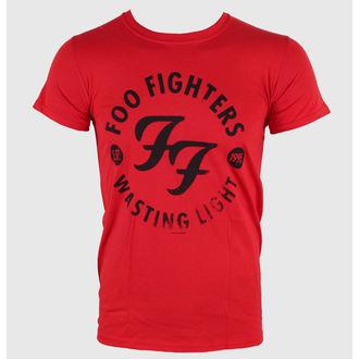 Majica muška Foo Fighters - Wasting Time Crven - LIVE NATION, LIVE NATION, Foo Fighters