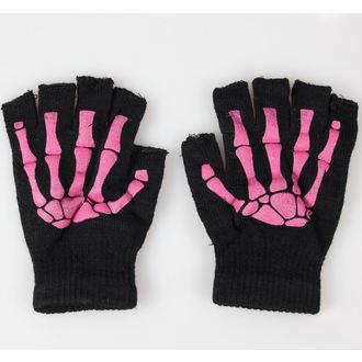 rukavice prstiju POIZEN INDUSTRIES - BGS Gloves - Black / Pink