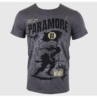 Majica muška Paramore - Minifield Ugljenasto - LIVE NATION, LIVE NATION, Paramore