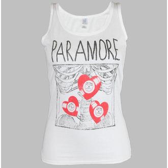 Potkošulja ženska Paramore - X Zraka Bijelo - LIVE NATION, LIVE NATION, Paramore